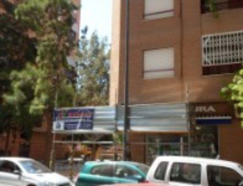 Reforma edificios Valencia en C/ Bolinches