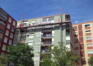 Rehabilitación fachada en Valencia