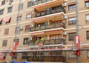 Rehabilitación de fachadas Valencia